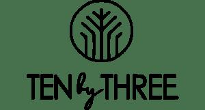 Ten by Three Logo