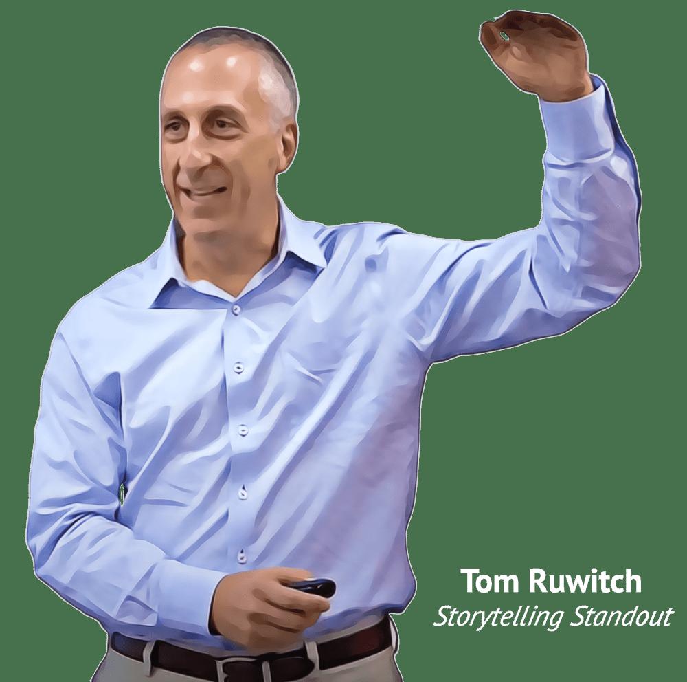 TOm Ruwitch - Storytelling Standout