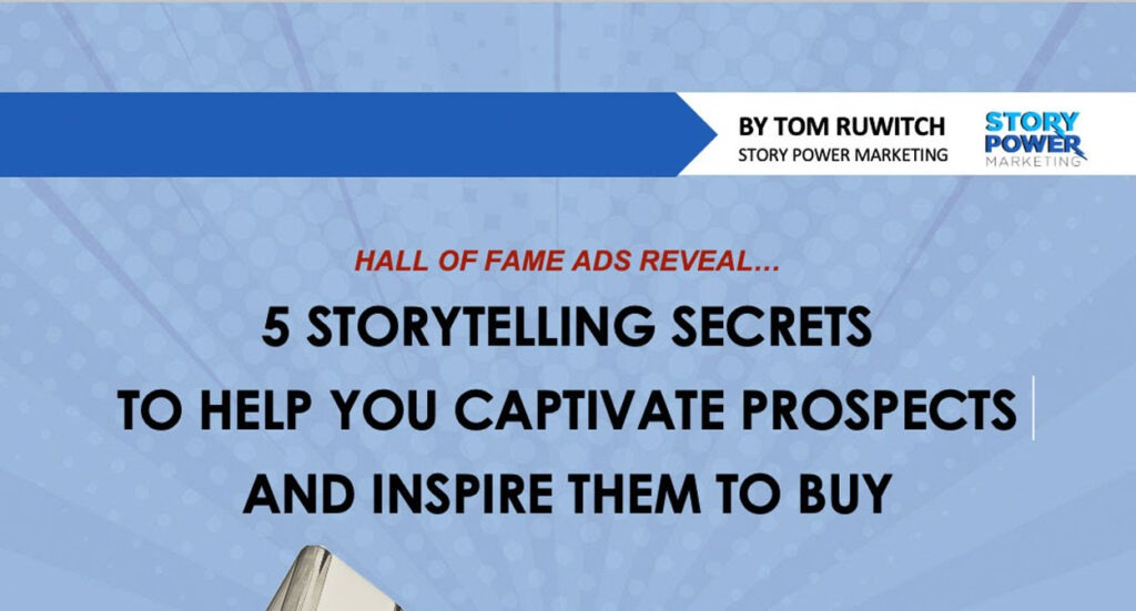 5 storytelling secrets